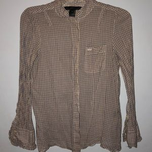 MARC JACOBS Long sleeve button down shirt